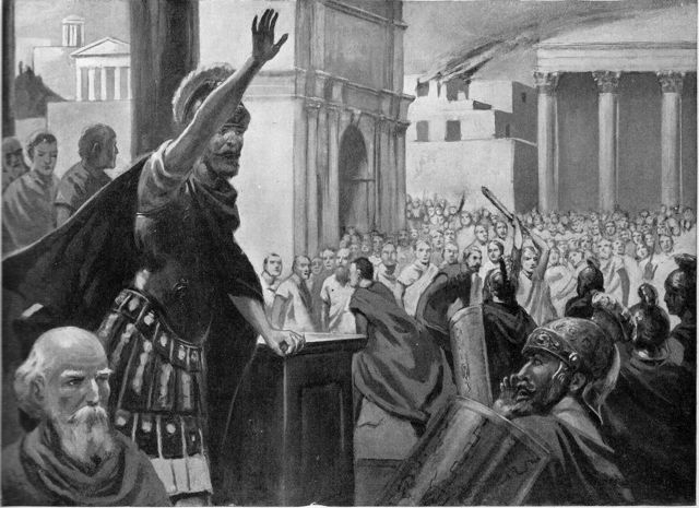 the history and role of consuls in ancient rome A consul held the highest elected political office of the roman republic (509 to 27 bc), and ancient romans  roman consul was  consuls would switch roles with .